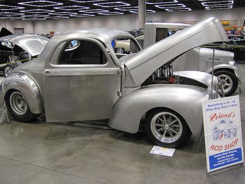 Roland S Rod Shop Willys Body Parts